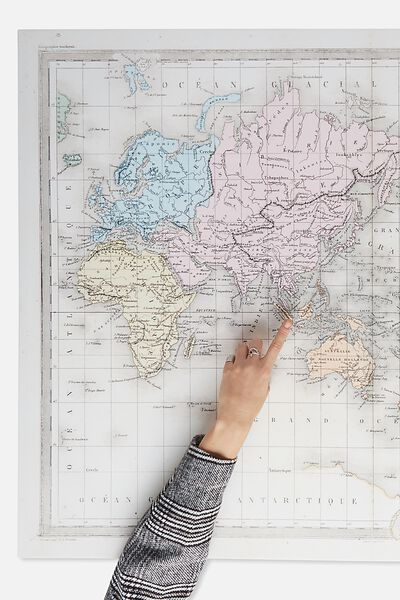 Wall art canvas art prints more typo canvas print 85x113 world map typo gumiabroncs Gallery