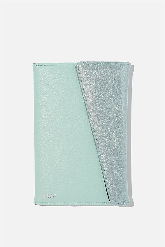 2020 Deluxe Diary, SOFT MOSS GLITTER