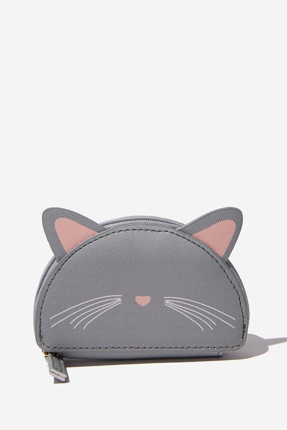Novelty Coin Purse, CAT FACE