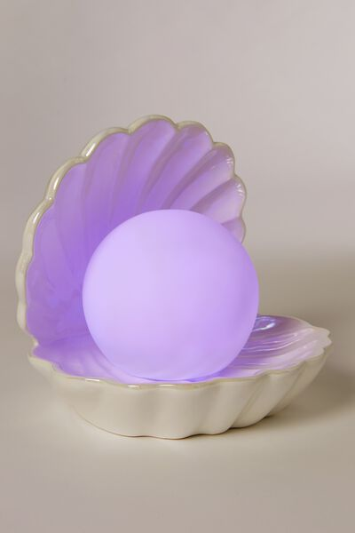 Large Clam Light, IRIDESCENT