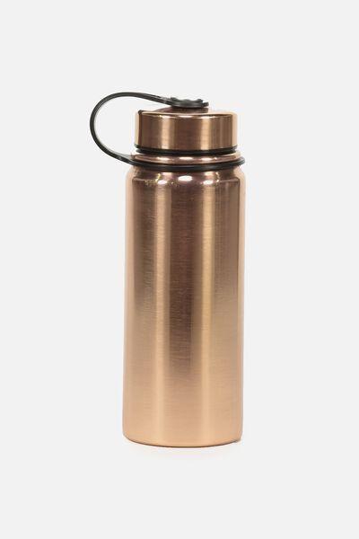 The Striker Metal Drink Bottle, ROSE GOLD