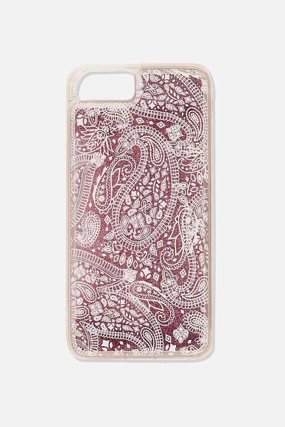 Shake It Phone Case 6, 7, 8 Plus, WHITE LACE