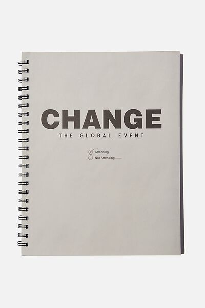 A4 Campus Notebook Recycled, CHANGE