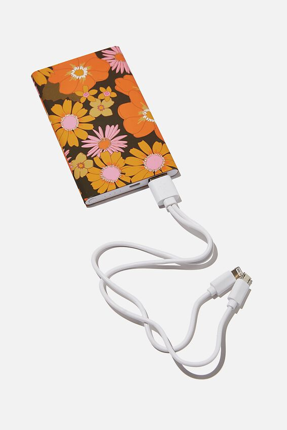 Printed Charge It Charger, STEVIE FLORAL