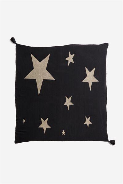 Novelty Throw Blanket, STARS