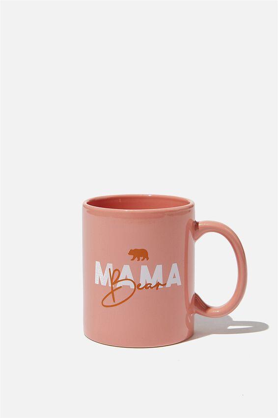 Anytime Mug, PEACH MUMMA BEAR