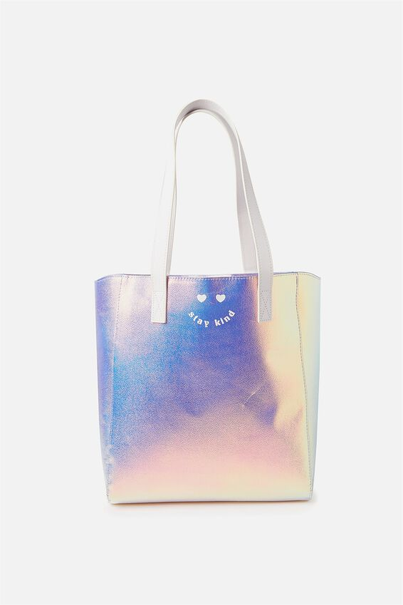 Premium Beach Tote Bag, IRIDESCENT