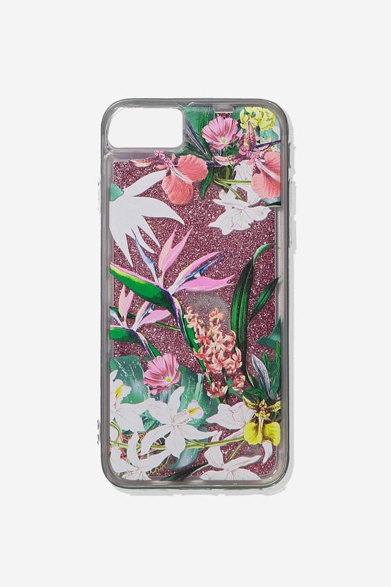 Shake It Phone Case Universal 6,7,8, BIRDS OF PARADISE