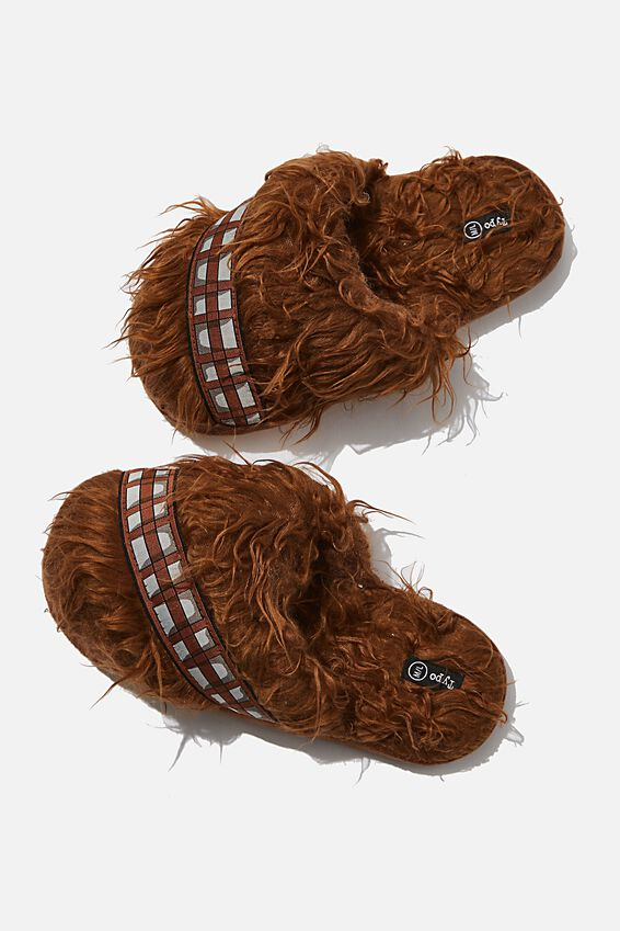 Star Wars Novelty Slippers, LCN LU STAR WARS CHEWBACCA