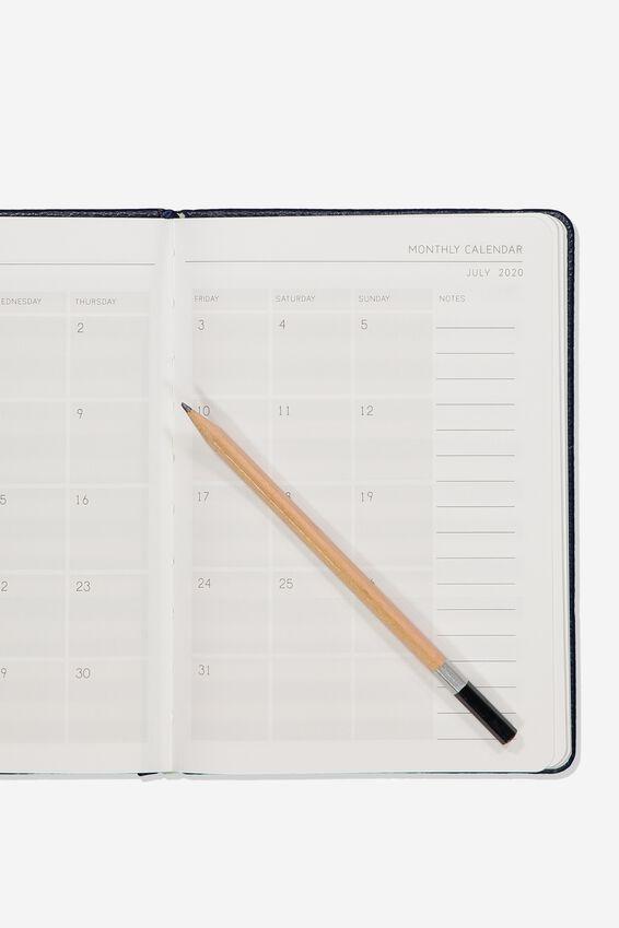 2020 A5 Weekly Buffalo Diary, NAVY