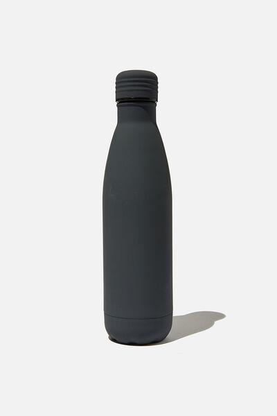 Metal Drink Bottle, WELSH SLATE