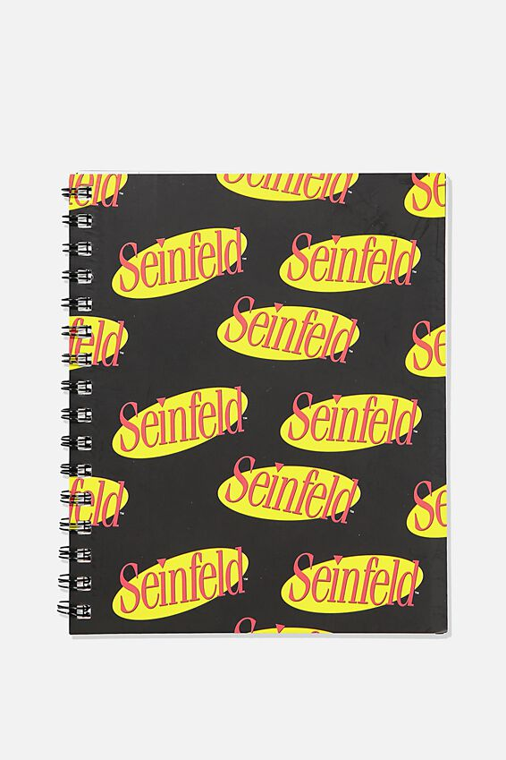A5 Seinfeld Campus Notebook Recycled, LCN WB SEI SEINFELD LOGO