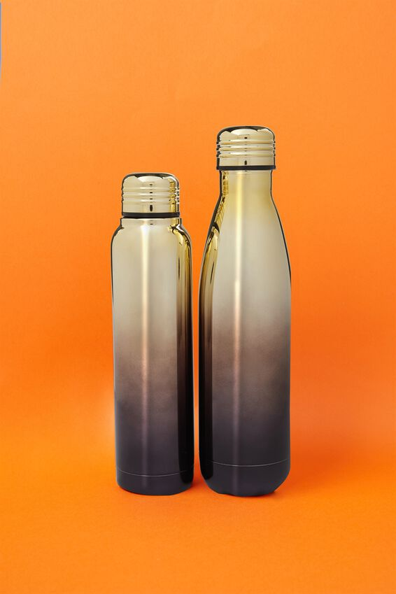 Metal Drink Bottle, ELECTROPLATED