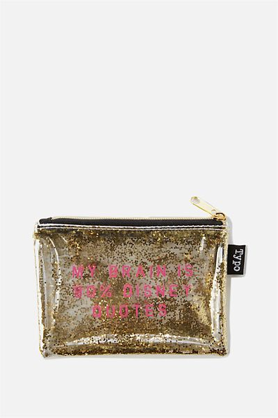 Shake It Coin Purse, LCN DISNEY QUOTE