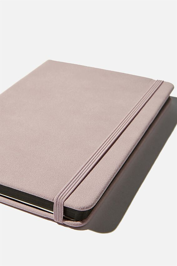 A5 Dot Buffalo Journal, HEATHER SUEDE
