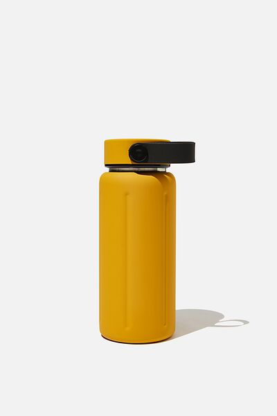 The Traveller Drink Bottle, MUSTARD