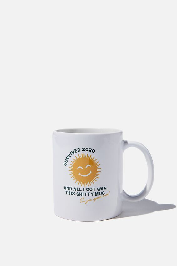 Limited Edition Anytime Mug, SURVIVED 2020