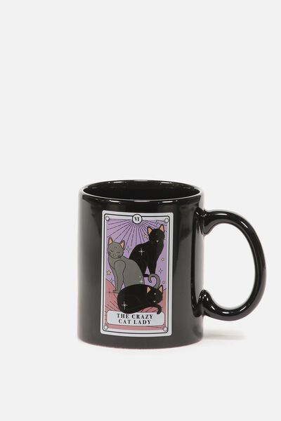 Anytime Mug, CAT LADY TAROT