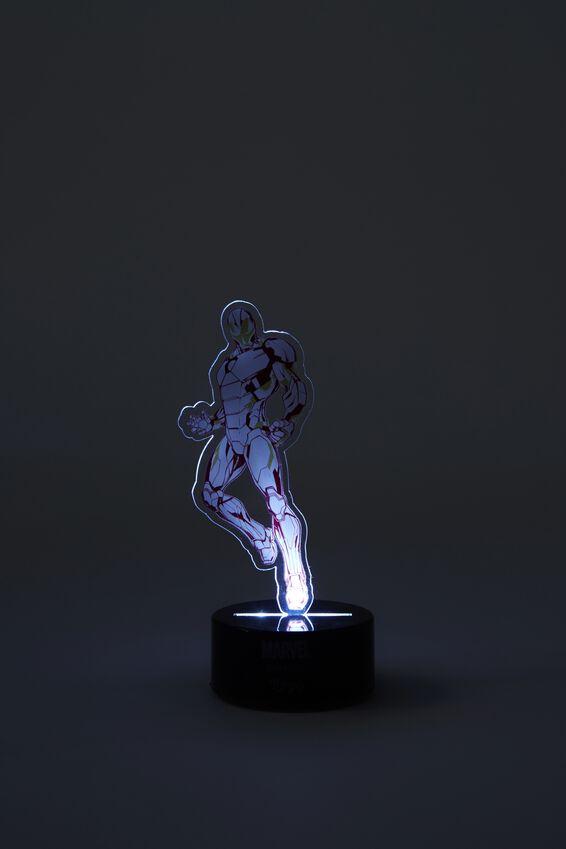 Marvel Mini Acrylic Light, LCN MAR IRON MAN
