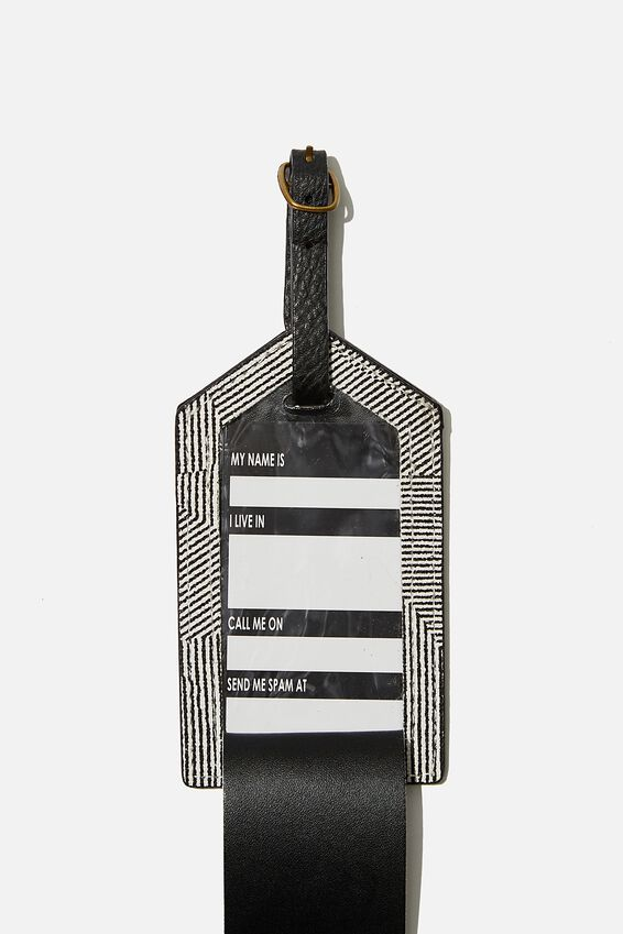 Luggage Tag, SPLICE LINES