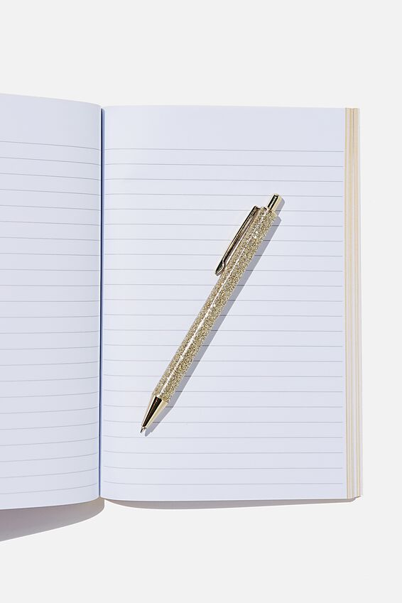 A5 Textured Notebook, HARDLY WORKING