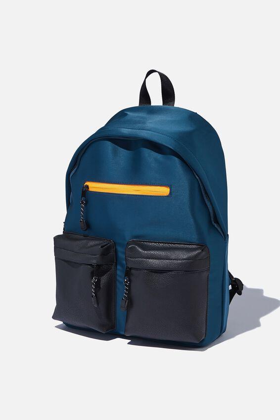 Utility Backpack, MULTI GREEN