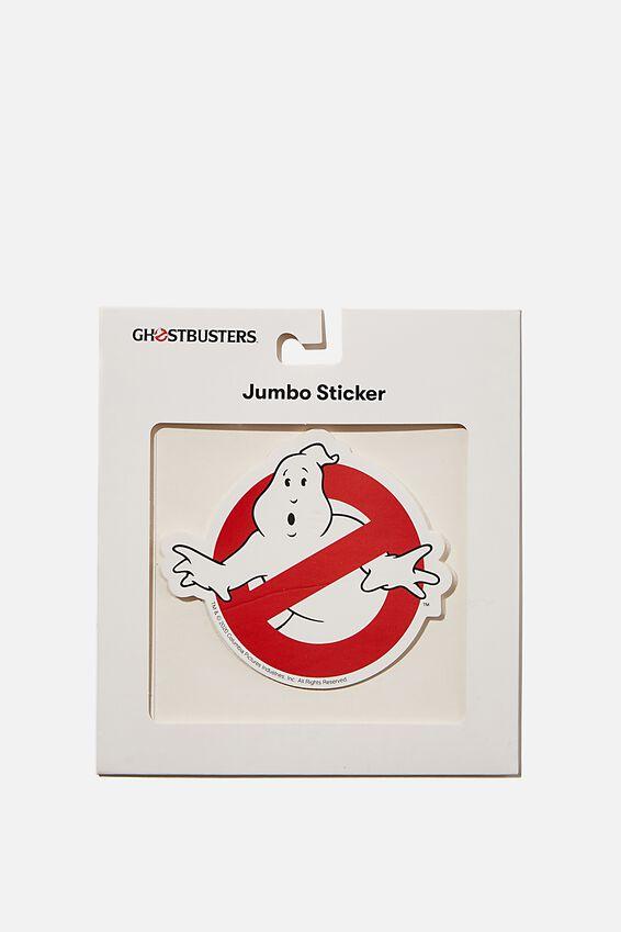 Ghost Busters Jumbo Sticker, LCN SON GHOSTBUSTERS