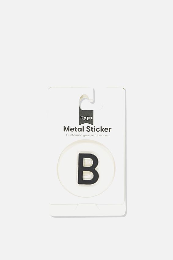 Metal Stickers, BLACK B
