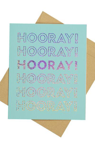 Blank Card, HOORAY HOLO
