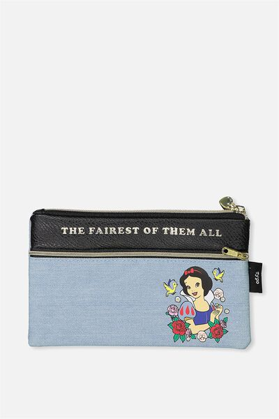 Deluxe Archer Pencil Case, LCN SNOW WHITE FAIREST OF THEM ALL