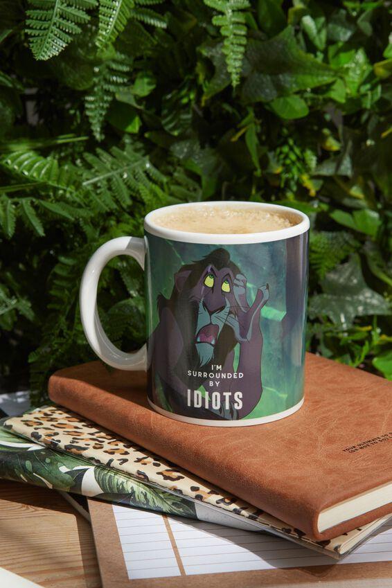 Lion King Anytime Mug, LCN DIS IDIOTS!