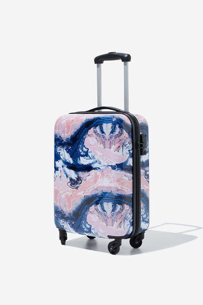 Tsa Small Suitcase, MOODY MARBLE