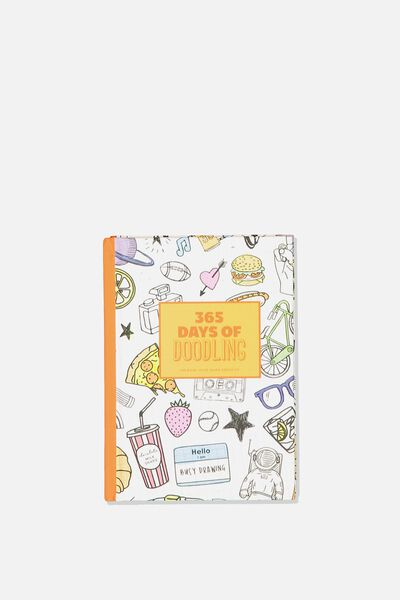Mini Activity Journal, 365 DAYS OF DOODLING