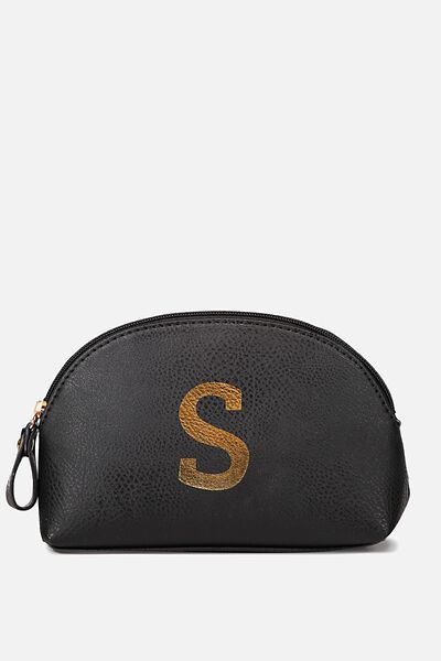 Alphabet Cosmetic Bag, S