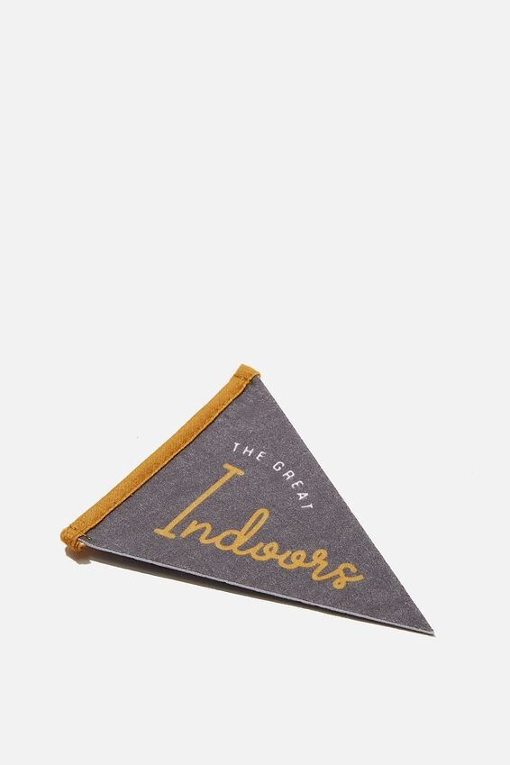 Mini Pennant Flag, GREAT OUTDOORS