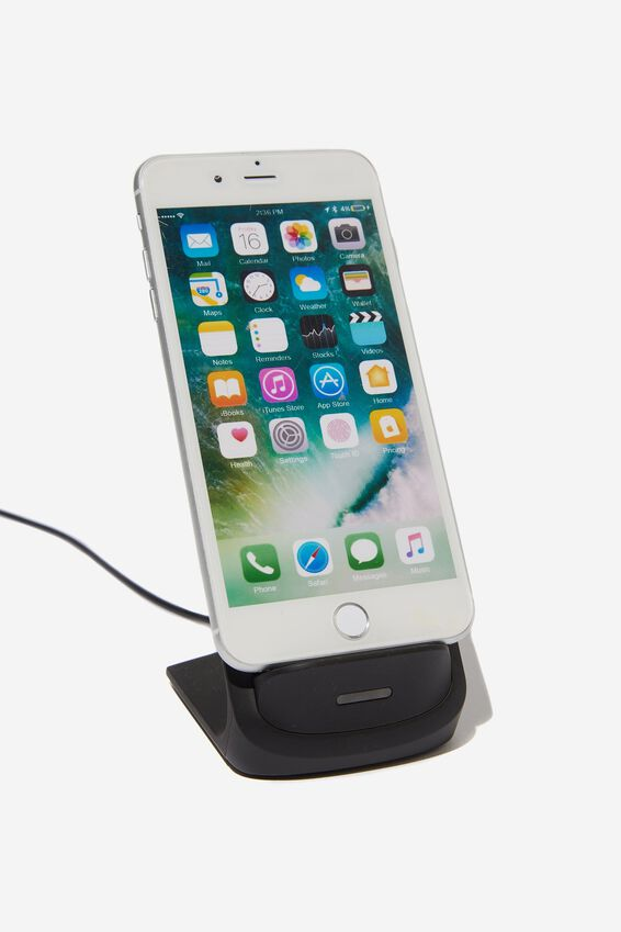 Wireless Charging Stand, BLACK