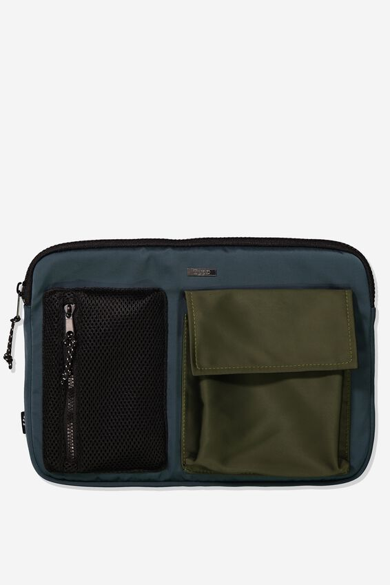Take Charge Laptop Cover 13 inch, KHAKI