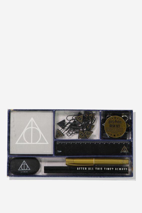 Harry Potter Desk Set, LCN HP DEATHLY HALLOWS