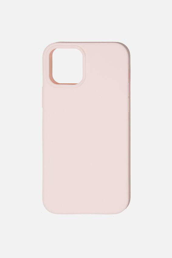 Slimline Recycled Phone Case Iphone 12, 12 Pro, PALE PINK
