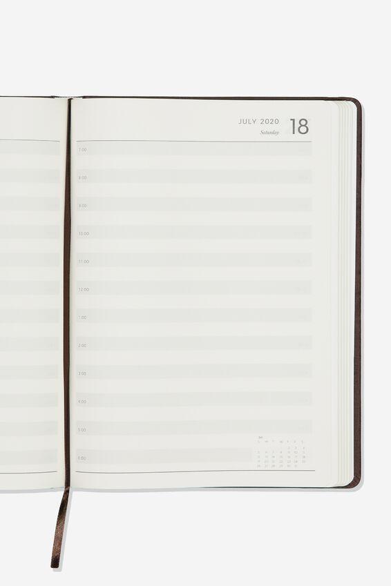 2020 A4 Daily Buffalo Diary, RICH TAN