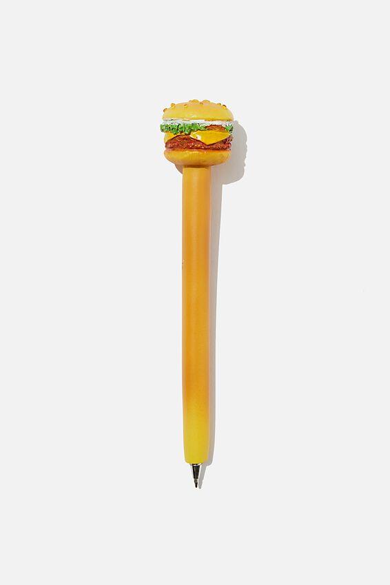 Novelty Pen, BURGER