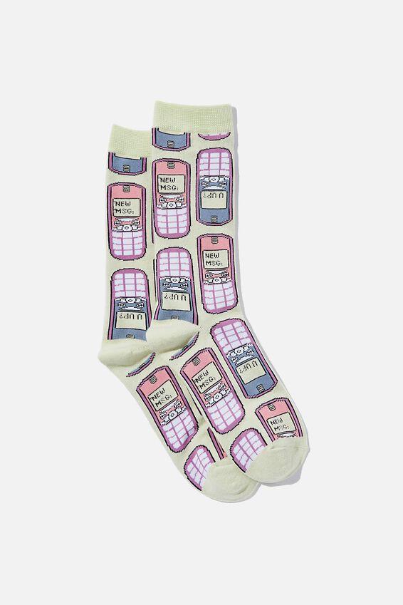 Socks, RETRO PHONES