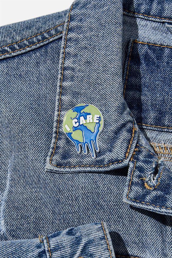Enamel Badges, I CARE