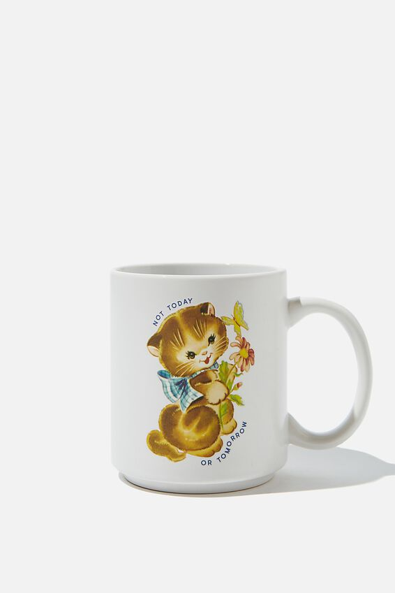 Daily Mug, NOT TODAY CAT