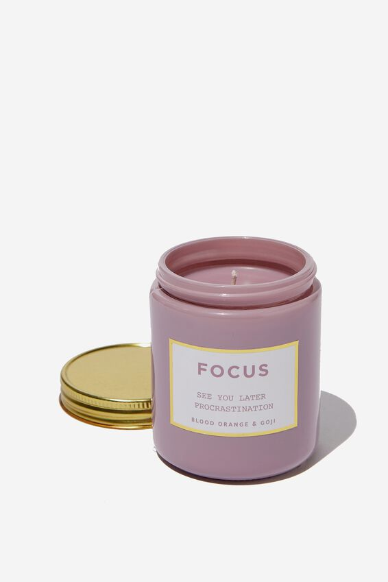 Mood Candle, FOCUS