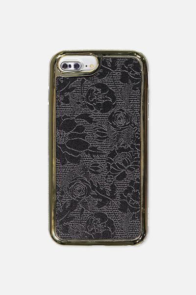 The Superior Phone Cover 6,7,8 Plus, BLACK LACE