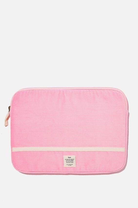 Take Me Away 13 Inch Laptop Case, PLASTIC PINK