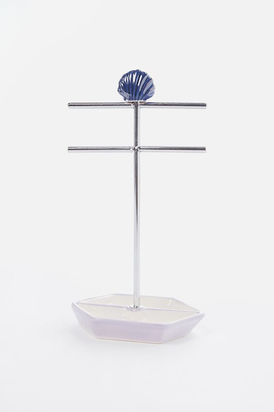 Jewellery Stand, OIL SLICK LILAC