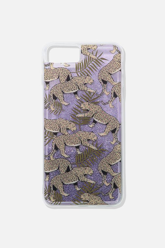 Shake It Phone Case 6, 7, 8 Plus, LEOPARD FERN