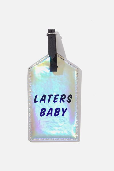 Luggage Tag, LATERS BABY